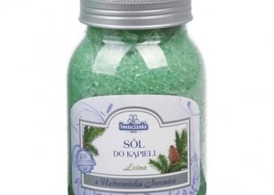 Sól do kąpieli lesna 600g plastik