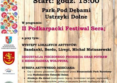 VI Festiwal Produktów Lokalnych i Tradycyjnych / II Podkarpacki Festiwal Sera