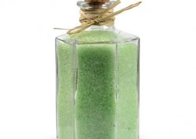 Sól do kąpieli zielona herbata 600g szkło