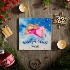 Kartka świąteczna z Aniołkiem 2