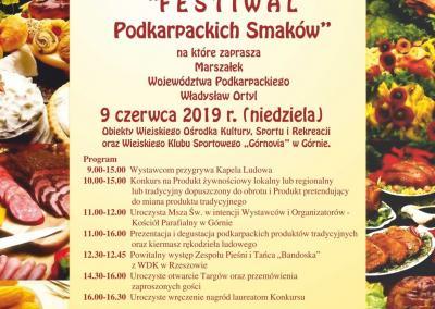 """XIII Targi Żywności Tradycyjnej """"Festiwal Podkarpackich smaków"""""""