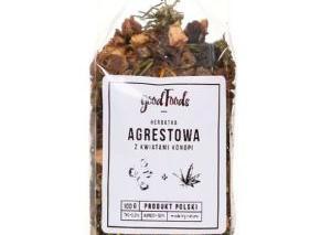 Herbatka agrestowa z liśćmi konopi
