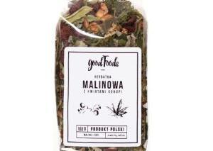 Herbatka malinowa z liści konopi