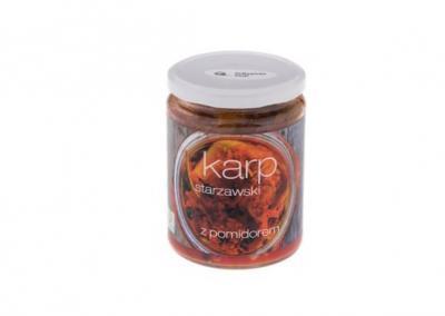 Karp starzawski w pomidorach 400ml