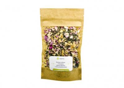 Herbata zielona z kwiatem opuncji figowej i róży pomarszczonej