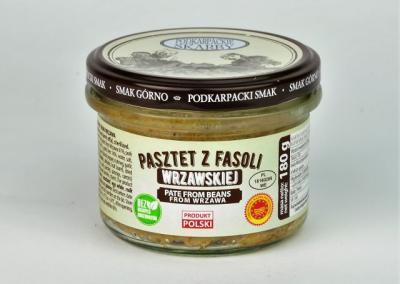 Pasztet z fasoli wrzawskiej