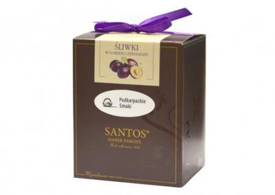 Śliwki w gorzkiej czekoladzie 100 g