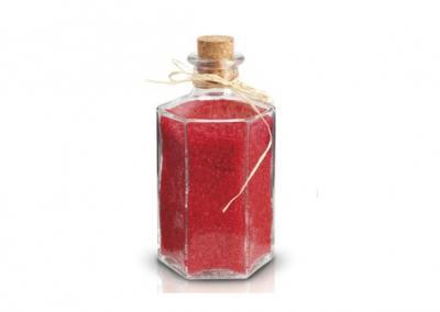 Sól do kąpieli róża 600g szkło