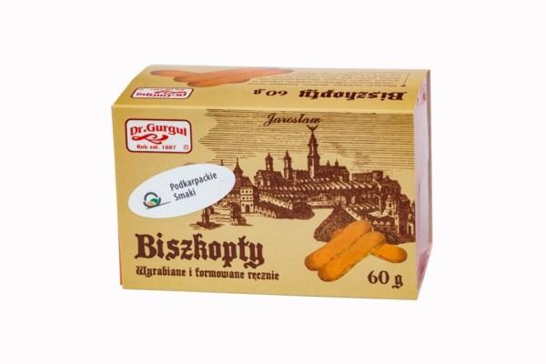 Biszkopty Lady Fingers Dr. Gurgul 60g z widokiem